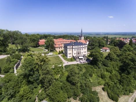 Schloss Ettersburg. Weitsicht. Bild: Guido Werner.