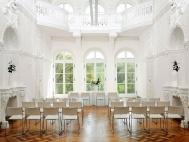 Weißer Saal. Standesamt. Bild: Axel Clemens.
