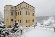 Das Neue Schloss Ettersburg im Winter. Bild: Axel Clemens.