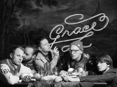 WOODS OF BIRNAM. Auf Grace-Tour. In Ettersburg mit JANDA-Support. Bild: Yves Borgwardt.