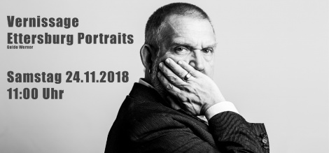 Guido Werner Portraits - Vernissage November 2018