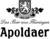 Logo Apoldaer Bier
