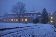 Romantischer Winterabend im barocken Schloss. Bild: Maik Schuck.