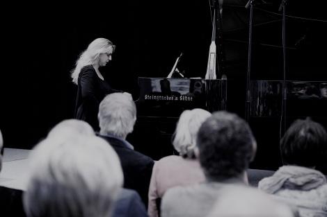 Ragna Schirmer. Konzert im Gewehrsaal am 6. Juni. Bild: Guido Werner.
