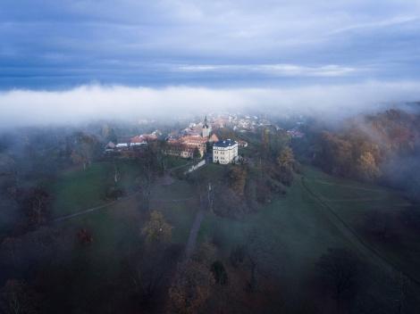 Schloss Ettersburg. Vor dem Winter. Bild: Guido Werner.